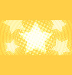 star yellow gold background vector image