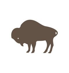 Buffalo-380x400 vector image vector image