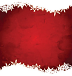 Grunge christmas snowflake background 3110 vector image vector image