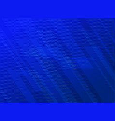Abstract lines pattern technology on blue vector