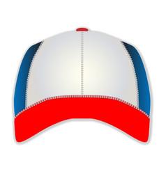 Blank baseball cap vector