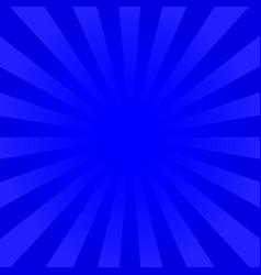 Bright indigo rays background vector