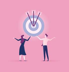 Business achievement success concept vector