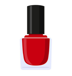 colorful cartoon nail polish vector image