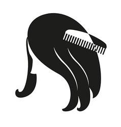 Hair vector