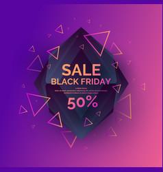 original sale poster for black friday sale vector image