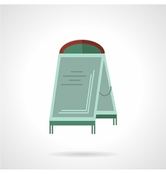 Sandwich board flat icon vector