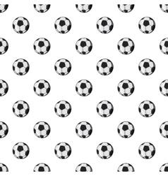 Soccer ball pattern cartoon style vector image vector image