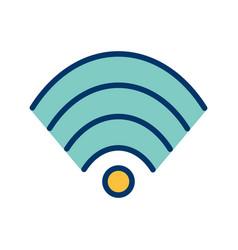 wifi icon vector image