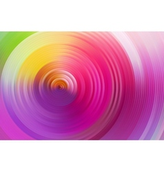 Abstract rainbow spiral colorful background vector image