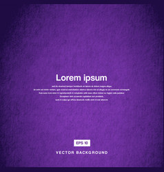 Background design texture of the old paper purple vector