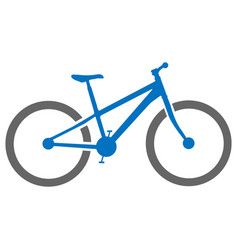 bicycle icon simple flat vector image