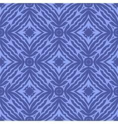 Blue endless texture oriental geometric ornament vector