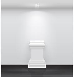 exhibition column vector image