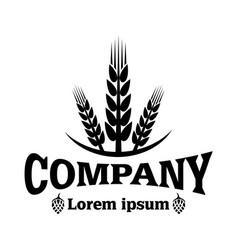 modern bakery logo vector image