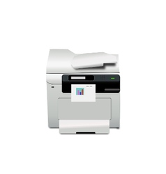 Multi-Function Printer on Working vector