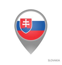slovakia point vector image