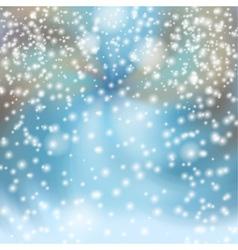 Snowfall in the City vector