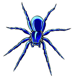 Spider steed crossbow scary vector