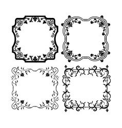 Vintage frames 2 vector