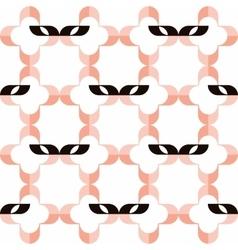Domino masks pattern vector