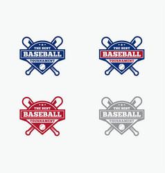 baseball4 vector image