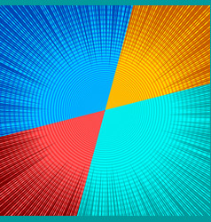 Abstract comic style background vector