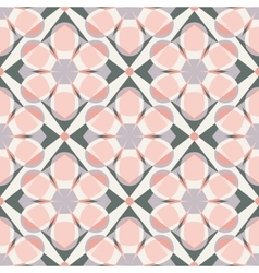 Decorative mosaic seamless pattern vector image