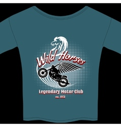 Motor Club t-shirt membership design vector