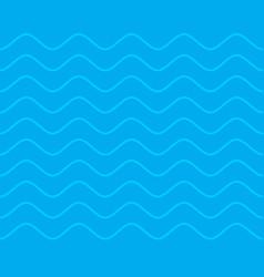 sea seamless pattern waves texture ocean ornament vector image