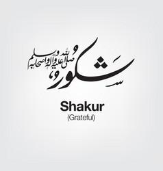 Shakur vector