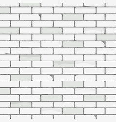 white brick wall texture pattern abstract vector image