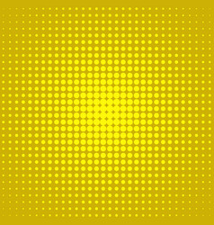retro abstract halftone dot background pattern vector image