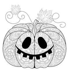 Pumkin for halloween vector