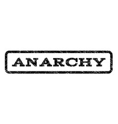 anarchy watermark stamp vector image