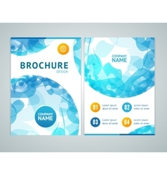 Brochure Design in A4 Size vector