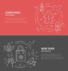 Christmas concept vector image