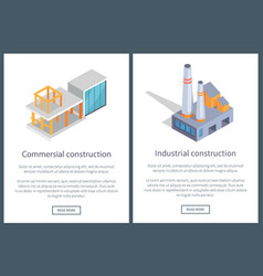 commercial and industrial vector image