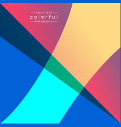 Design abstract background colorful vector