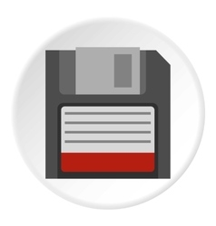 Floppy icon flat style vector image