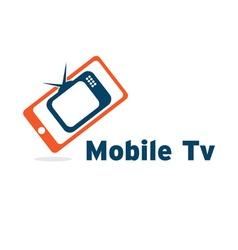 Mobile tv vector