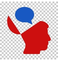 Open Mind Opinion Icon vector