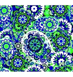Traditional oriental seamless paisley pattern vector image