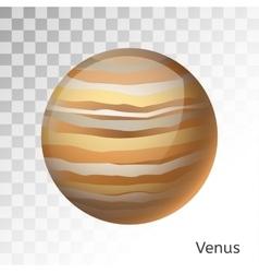 Venus planet 3d vector