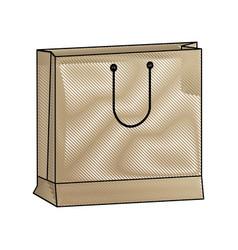 shopping bag market commerce pack image vector image vector image