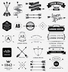 Arrows design vector
