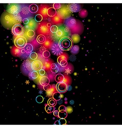 Rainbow Colours Background vector image vector image