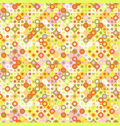 Colorful seamless abstract diagonal mosaic vector