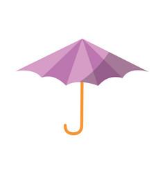 isolated beach umbrella vector image