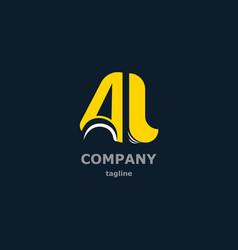 letter decorative symbols for design vector image